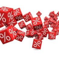 wenigr Zinsen für Spareinlagen